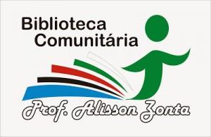 Logomarca da Biblioteca Comunitaria Professor Alison Zonta