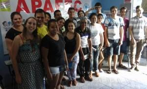 Jovens das Pastorais de Juventude do Contestado visitam espaços de educação e organização popular no bairro São Miguel em Fraiburgo-SC (1)