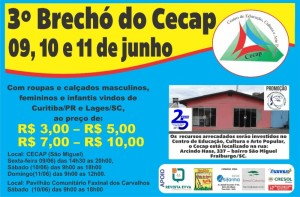 3º Brechó do Cecap arte final