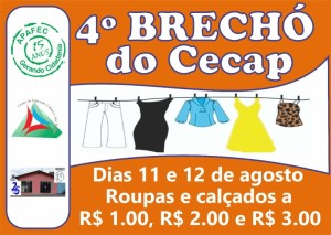 4º Brecho do Cecap