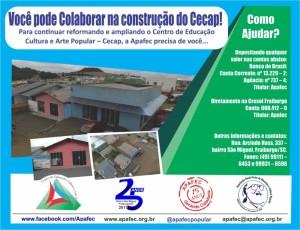 Campanha arrecadação Cecap 2017
